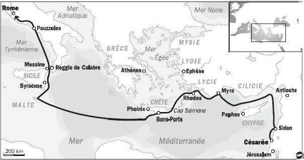HISTOIRE ABRÉGÉE DE L'ÉGLISE - PAR M. LHOMOND – France - année 1818 (avec images et cartes) Paul4